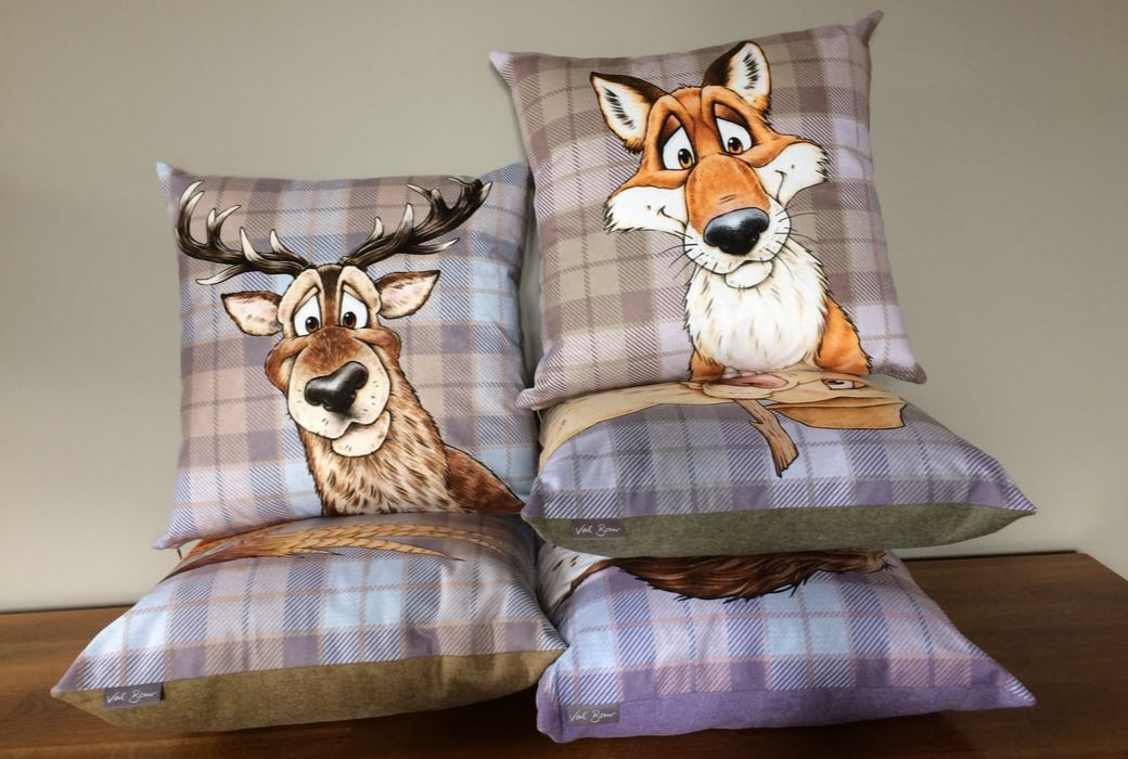Cartoon Cushions